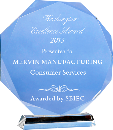 Image From Mervin Manufacturing receives 2013 Washington Excellence Award
