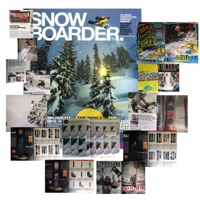 Image From Mervin in Snowboarder Magazine's September Issue